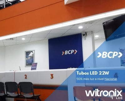 banco led iluminacion