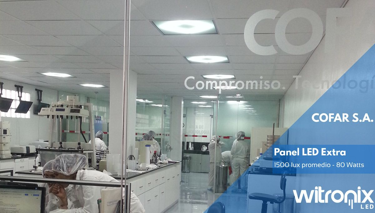 Cofar laboratorio led
