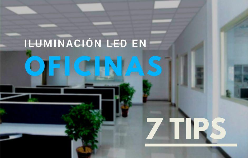 Witronix led iluminaci n para oficinas industrias for Iluminacion led oficinas