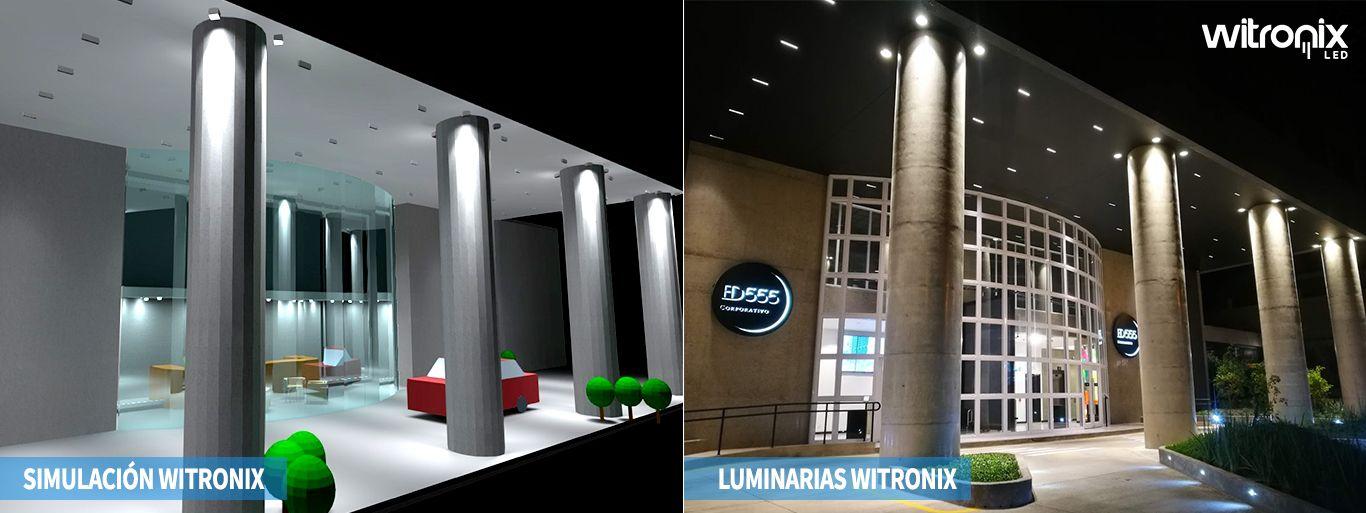 simulacion y ejecucion de luminarias